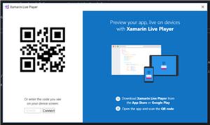 Previewing the Xamarin Live Players for Visual Studio